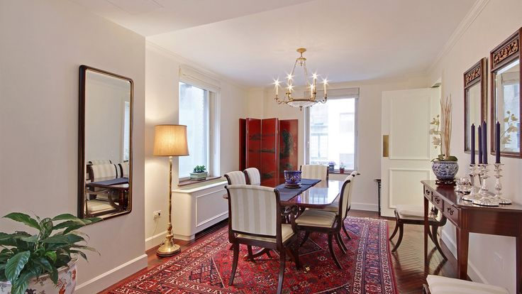Dining Room, 1049 Fifth Avenue, Condo, Manhattan, NYC