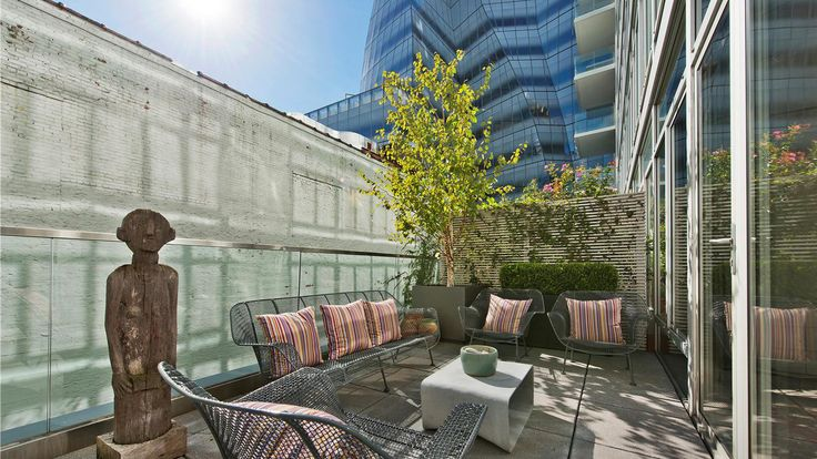Terrace, 520 West 19th Street, Condo, Manhattan, NYC