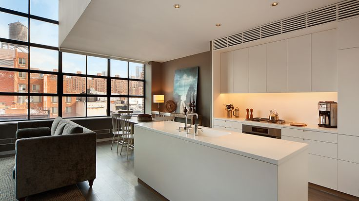 Kitchen, 456 West 19th Street, Condo, Manhattan, NYC