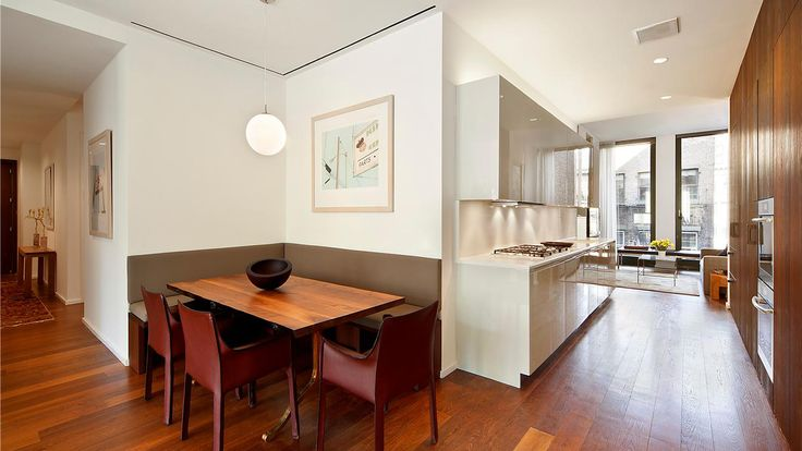 Eat-in Kitchen, 40 Bond Street, Condo, Manhattan, NYC