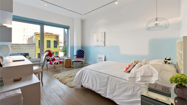 Bedroom, 520 West 19th Street, Condo, Manhattan, NYC
