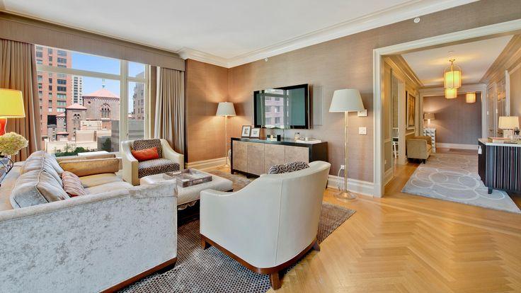 15 Central Park Living Room, Manhattan, Condo