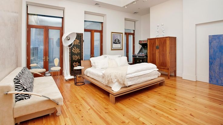 Bedroom, The Loft, Luxury Condo, Manhattan, NYC