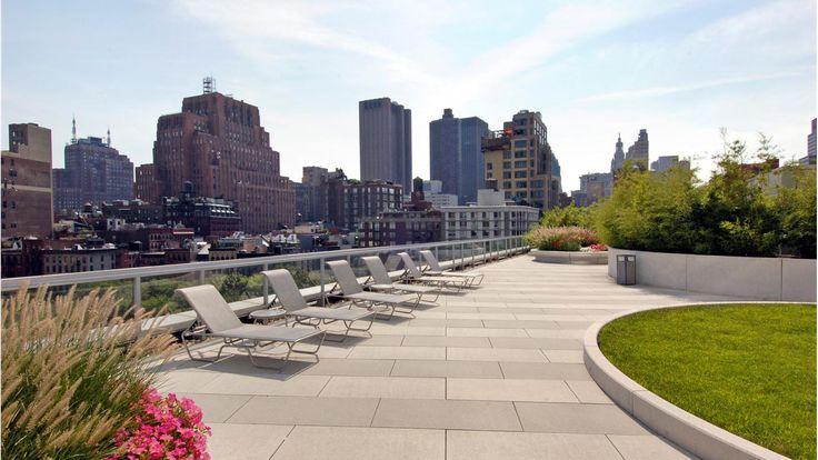 Terrace, 200 Chambers Street, Condo, Manhattan, NYC