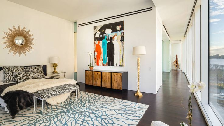 Bedroom, 165 Charles Street, Condo, Manhattan, NYC