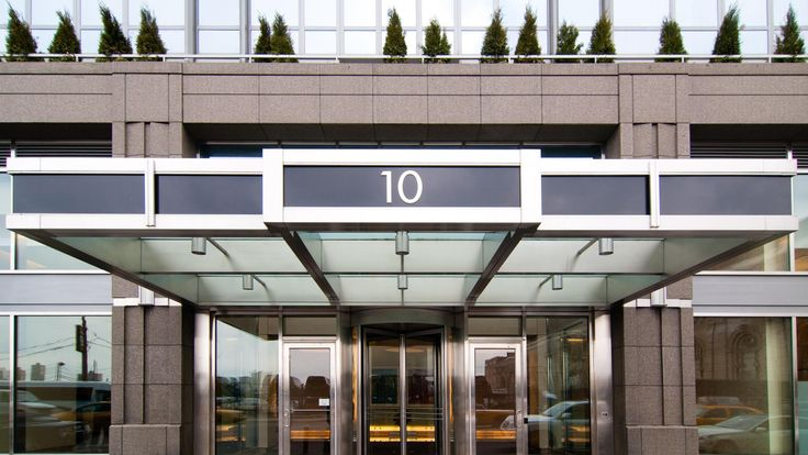 Entrance, 10 West End Avenue, Condo, Manhattan, NYC