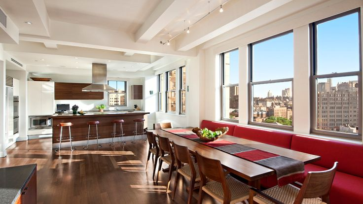 Banquette, 147 Waverly Place, Condo, Manhattan, NYC