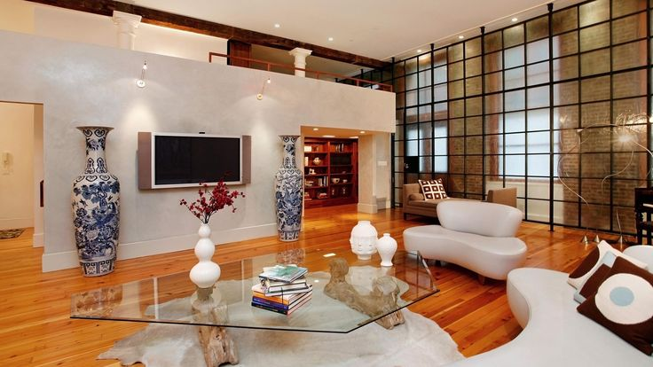 Living Room, The Loft, Luxury Condo, Manhattan, NYC
