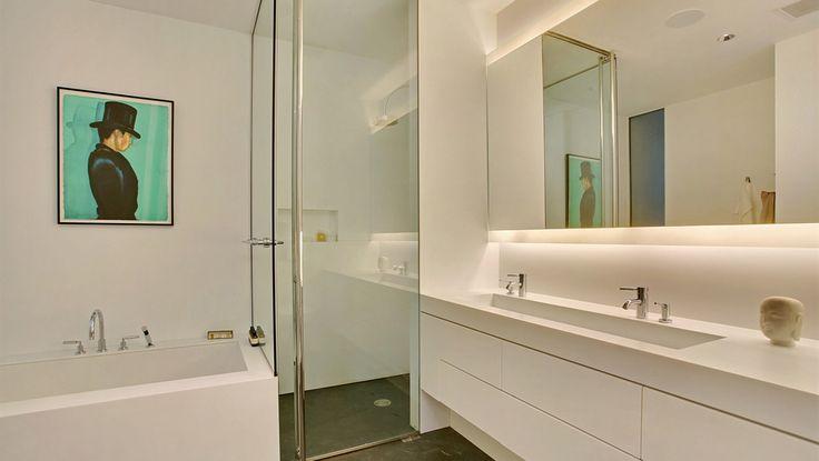 Bathroom, 165 Charles Street, Condo, Manhattan, NYC
