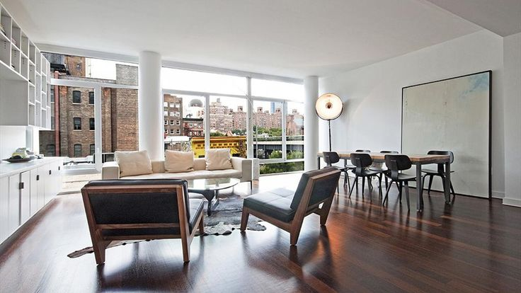 Living Room, 520 West 19th Street, Condo, Manhattan, NYC