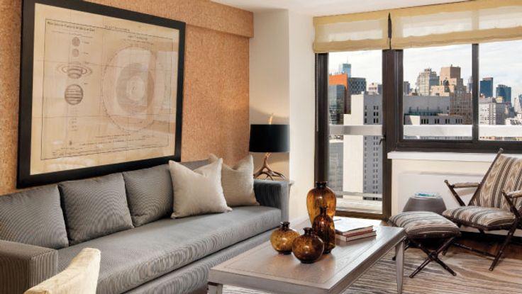 Living Room, 515 East 72nd Street, Condo, Manhattan, NYC