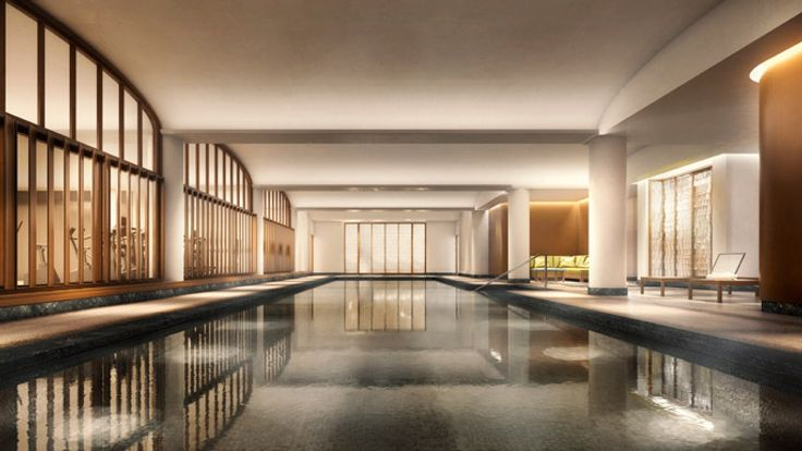 Pool, 150 Charles Street, Condo, Manhattan, NYC