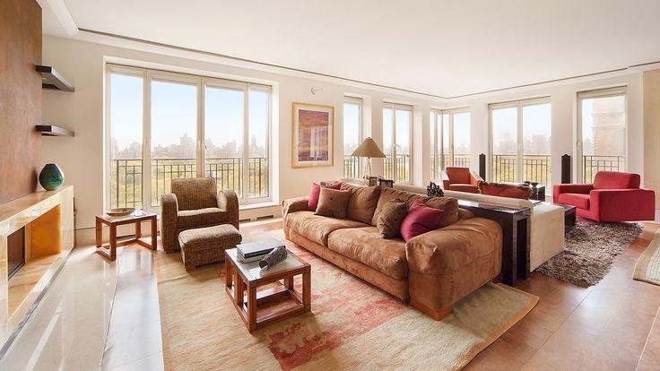 Living Room, 353 Central Park West, Condo, Manhattan, NYC