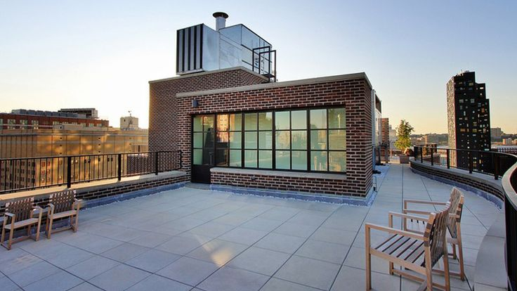 Roof Deck, 456 West 19th Street, Condo, Manhattan, NYC