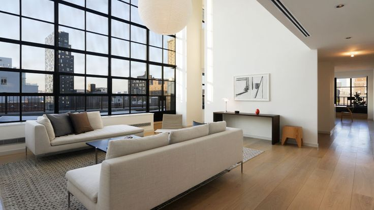 Living Room, 456 West 19th Street, Condo, Manhattan, NYC