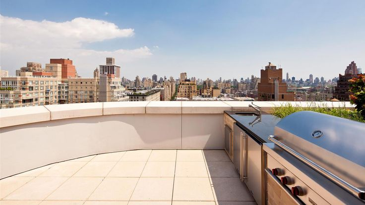 Roof Top, 535 West End Avenue, Condo, Manhattan, NYC