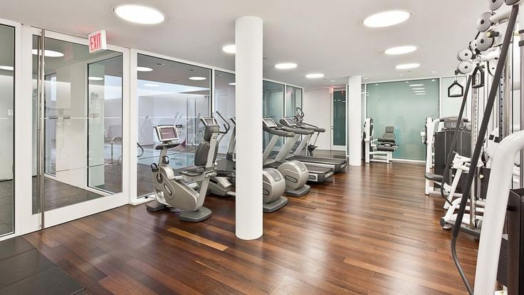 Exercise Room, 165 Charles Street, Condo, Manhattan, NYC