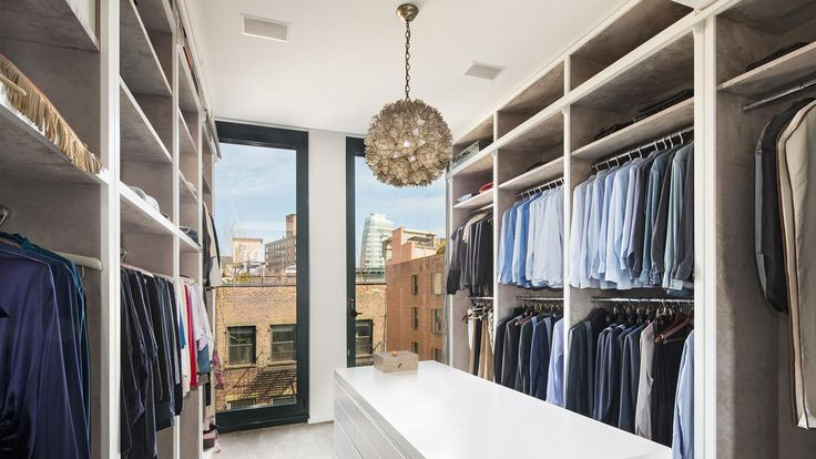 Walk-in Closet, 40 Bond Street, Condo, Manhattan, NYC