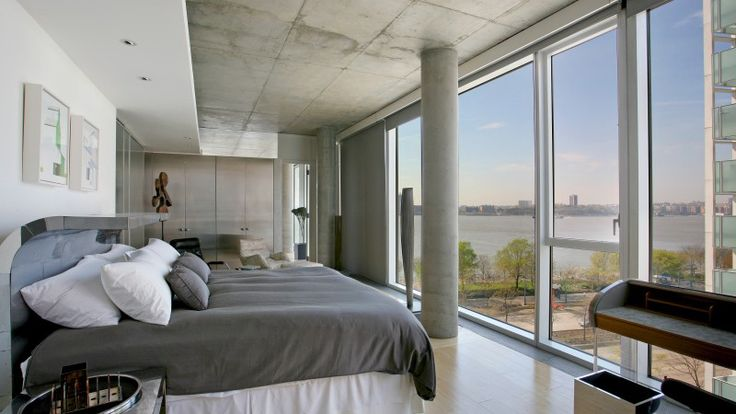 Bedroom, 176 Perry Street, Condo, Manhattan, NYC