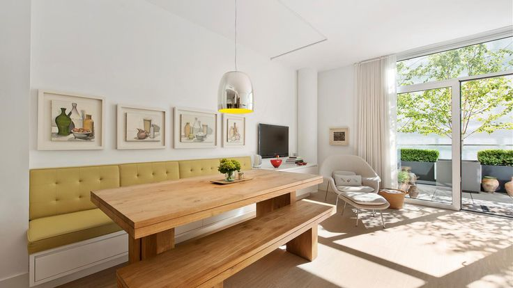 Banquette, 520 West 19th Street, Condo, Manhattan, NYC