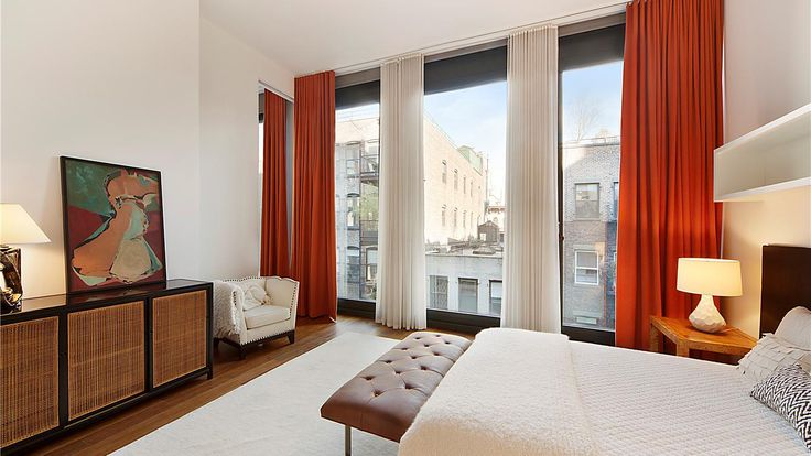 Bedroom, 40 Bond Street, Condo, Manhattan, NYC