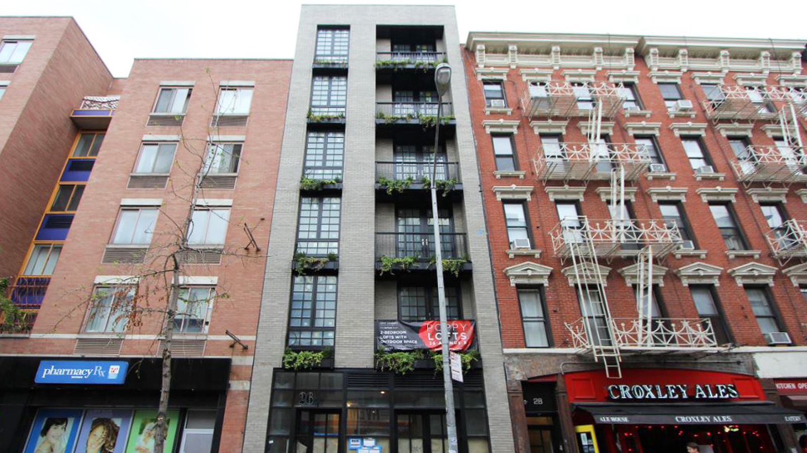 Poppy Lofts, 26 Avenue B