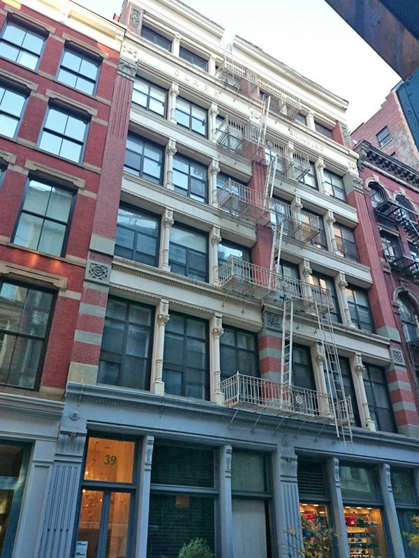 39 Lispenard Street