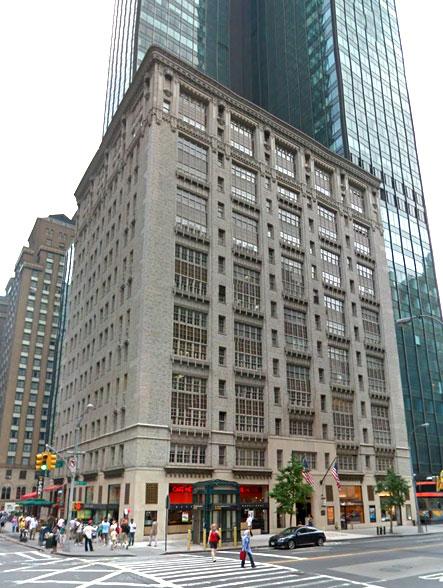 Between Seventh Avenue Broadway