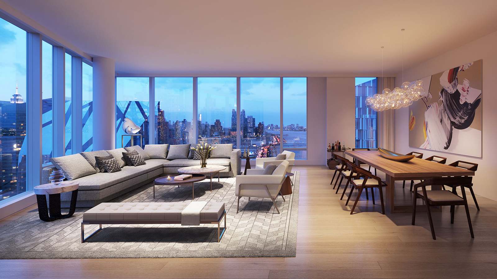 Two Waterline Square 400 West 61st Street Nyc Condo