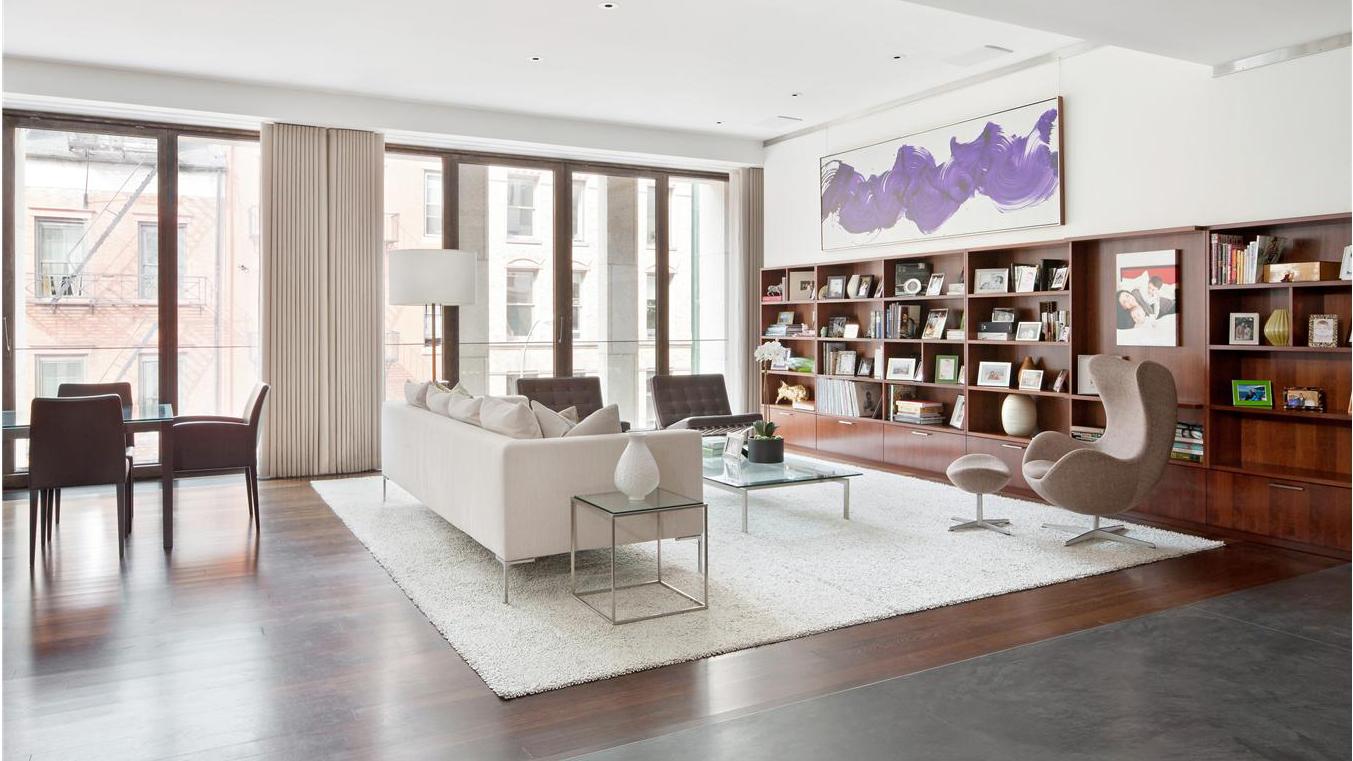 Living Room, 25 Bond Street, Condo, Manhattan, NYC