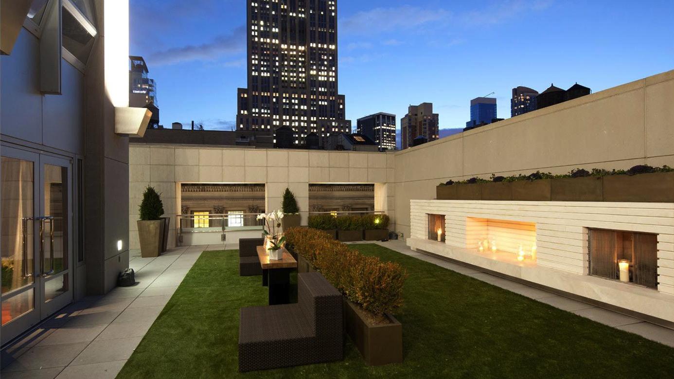 Terrace, 400 Fifth Avenue, Condo, Manhattan, NYC