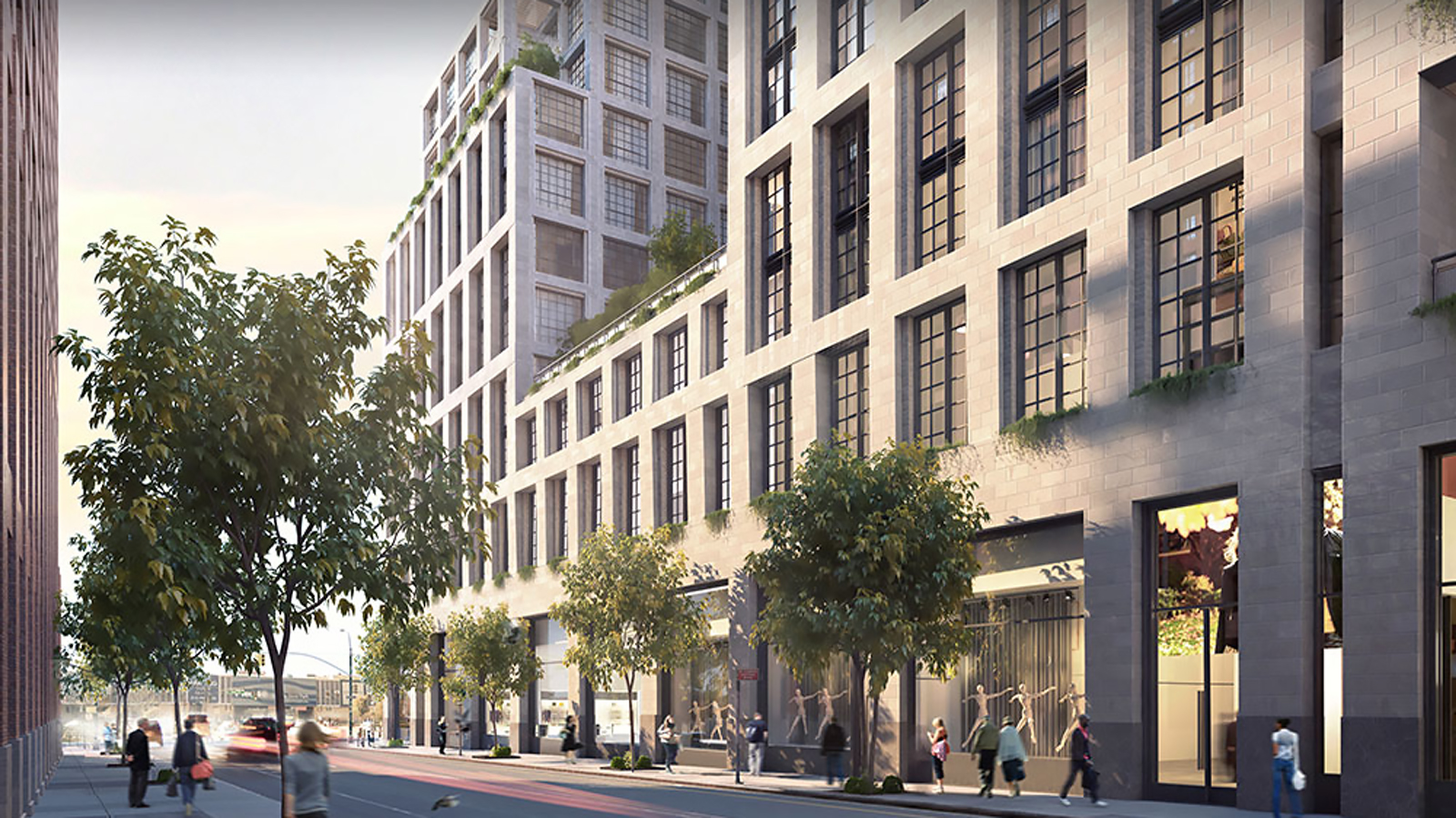 Clarkson Square, 550 Washington Street