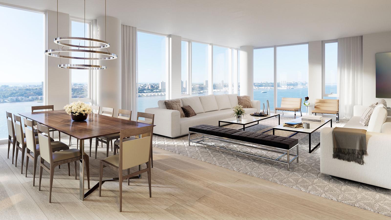 One waterline square 10 riverside boulevard nyc condo apartments cityrealty