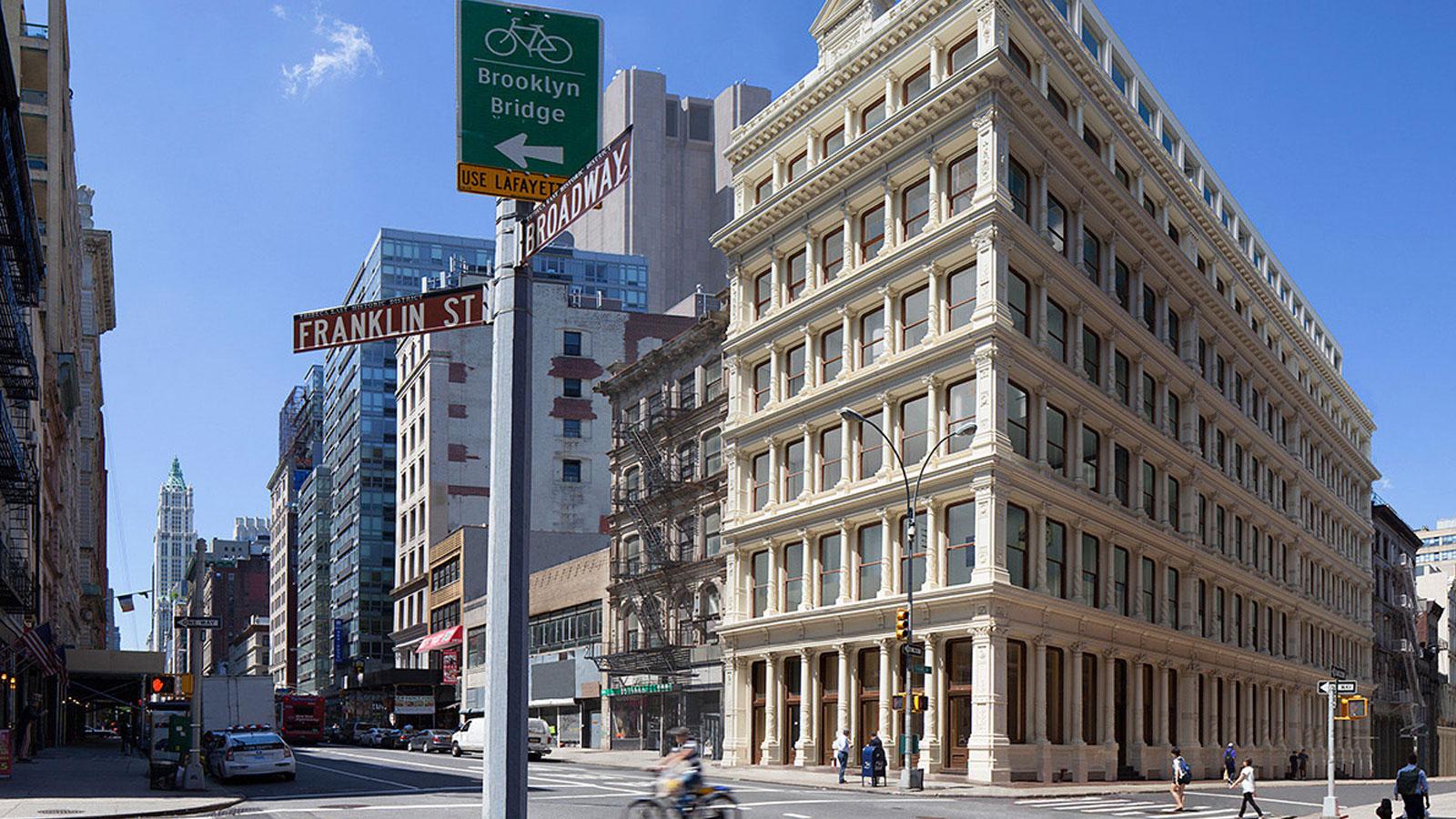 Cast Iron House, 67 Franklin Street