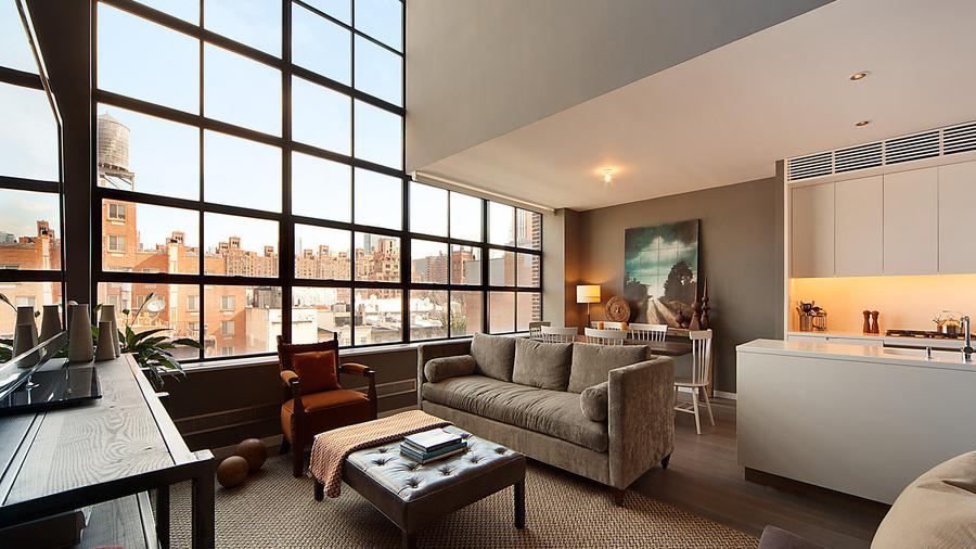 Interior, 456 West 19th Street, Condo, Manhattan, NYC