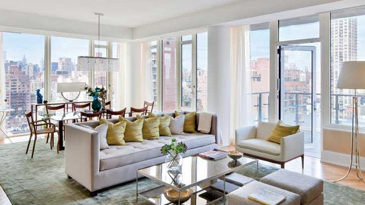 Living Room, 30 East 85th Street, Condo, Manhattan, NYC