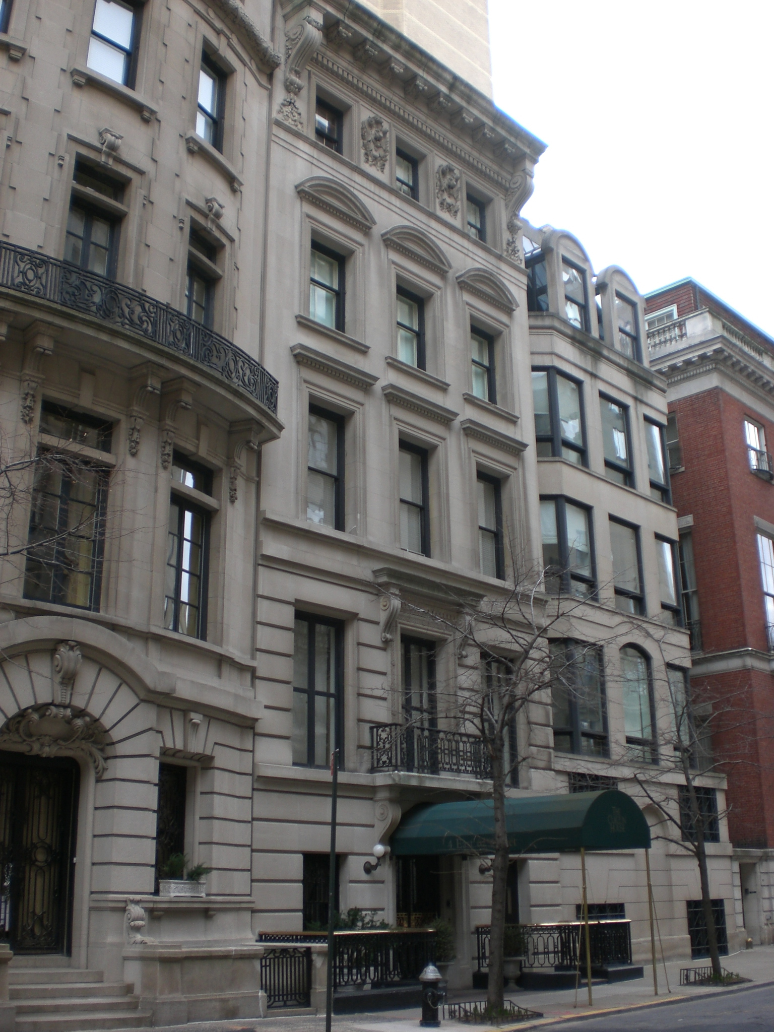 The Curzon House, 4 East 62nd Street