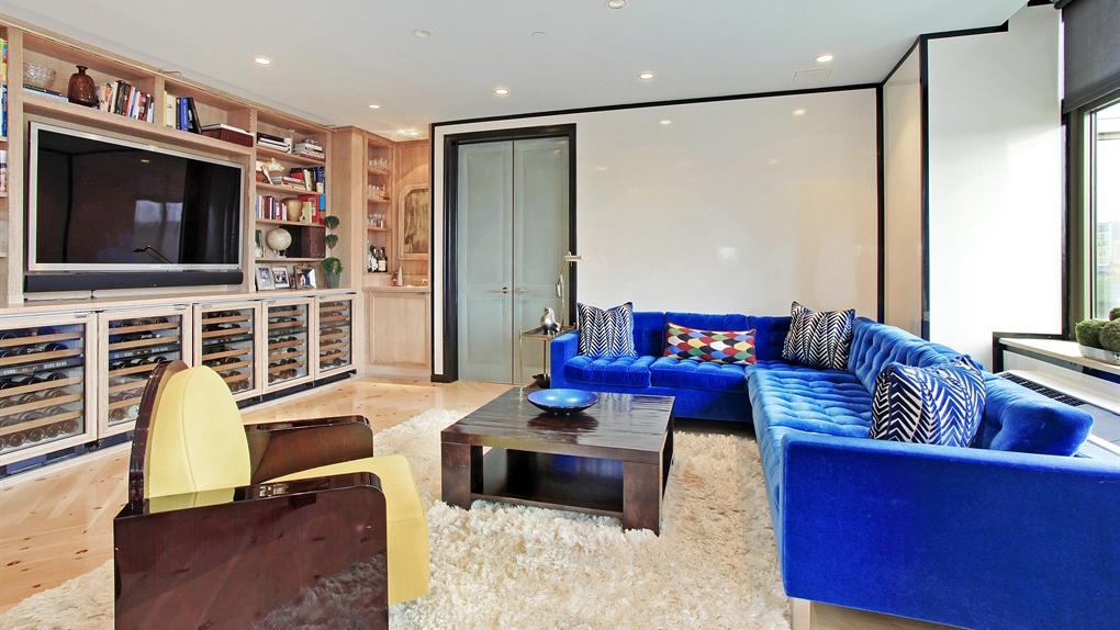 Livingroom, 1 Morton Square, Condo, Manhattan, Neighborhood