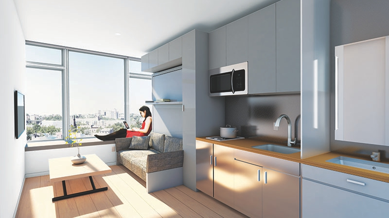 Nest Micro Apartments 190 Academy Street Nyc Rental Cityrealty