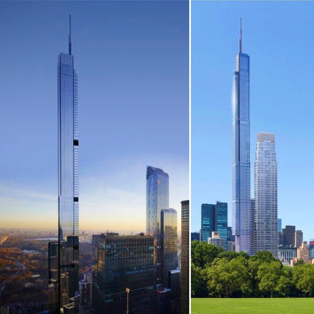 Central Park New York Condos: Central Park Tower, 217 West 57th Street, NYC
