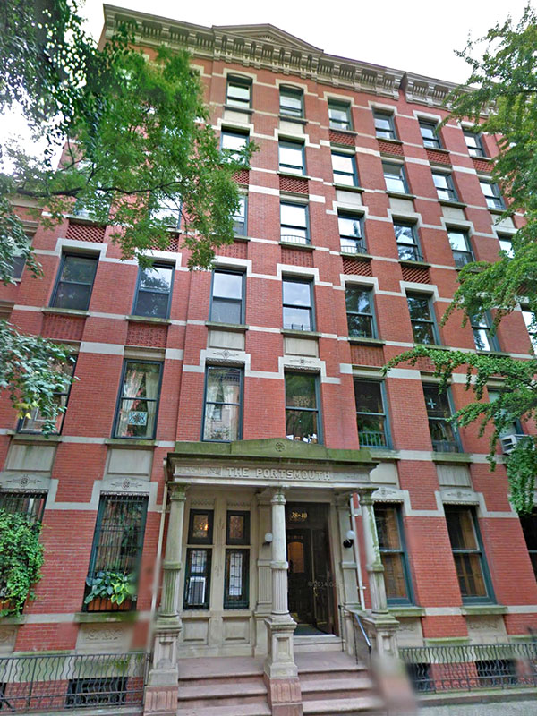 The Portsmouth, 38 West 9th Street