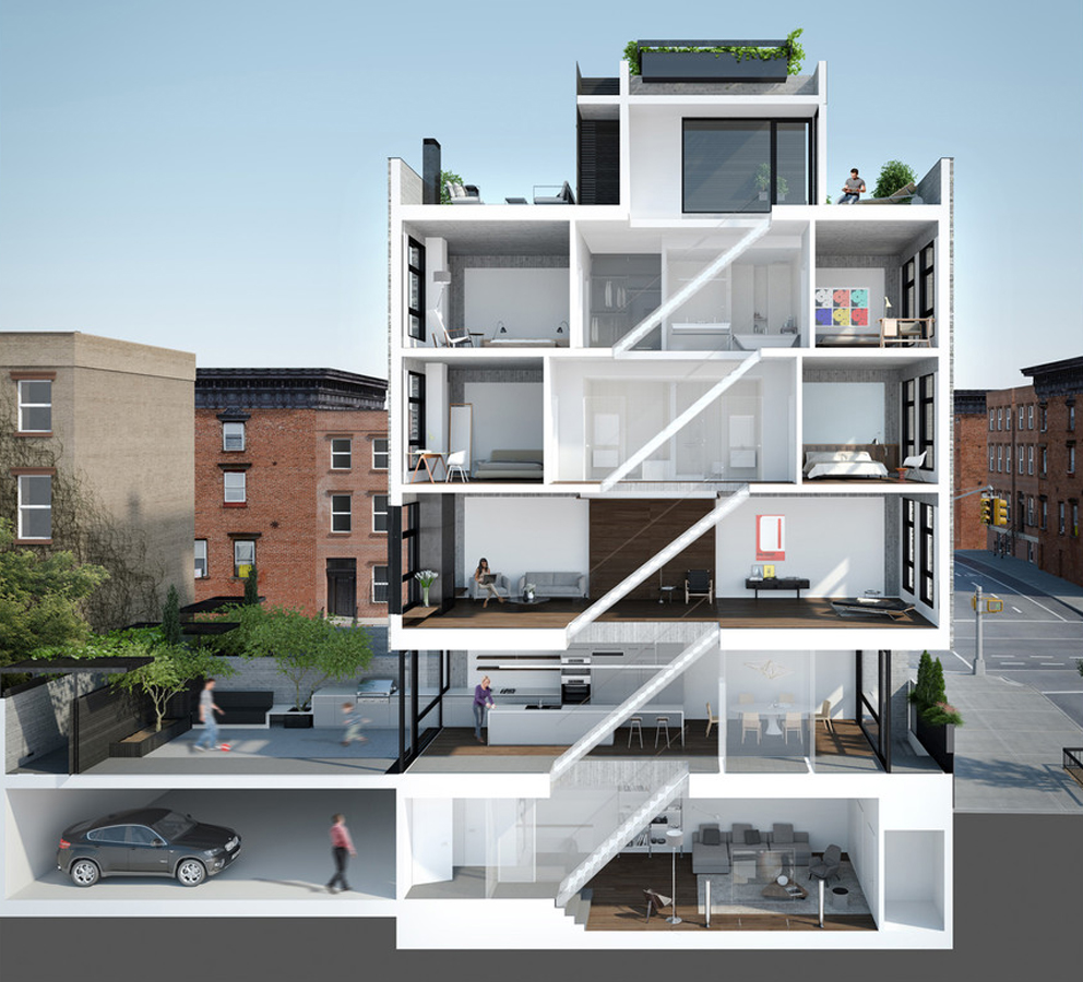 Find Townhomes For Rent: Wythe Lane Townhouses, 6 Wythe Lane, Overview