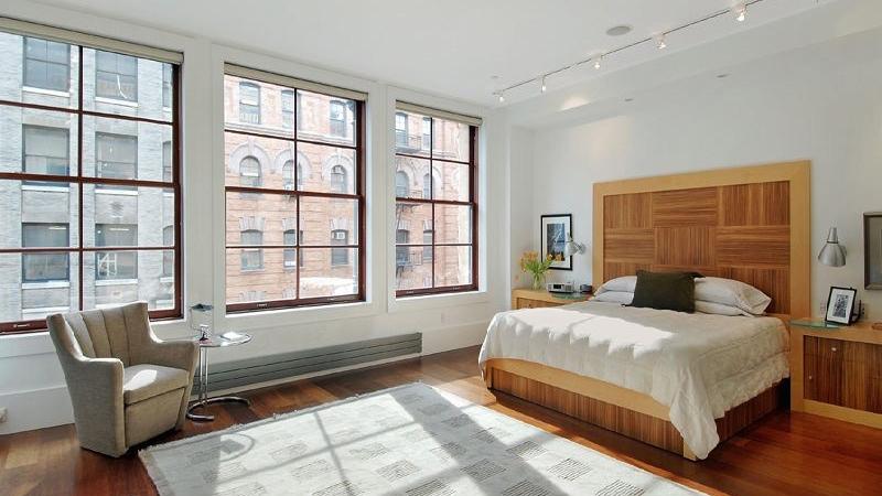 Bedroom, 140 Franklin Street, Condo, Manhattan, NYC