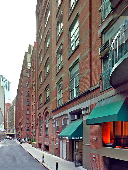 33 Gold Street Nyc Al Apartments