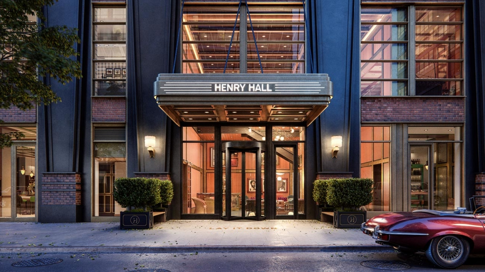 Henry Hall, 515 West 38th Street