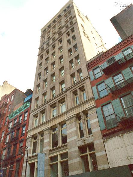The New Museum Building, 158 Mercer Street