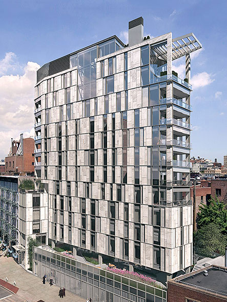 One vandam 180 sixth avenue nyc condo apartments for Apartments for sale in soho