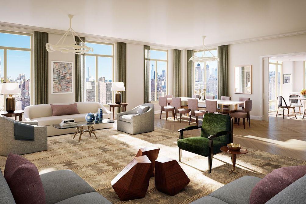 250 West 81st Street interiors