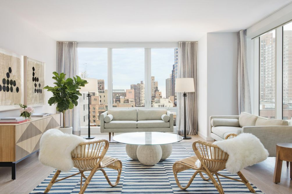 A model residence at The Alyn, 152 East 87th Street