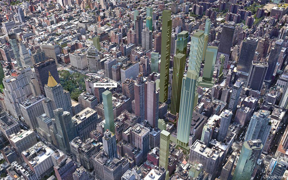 NoMad skyscrapers